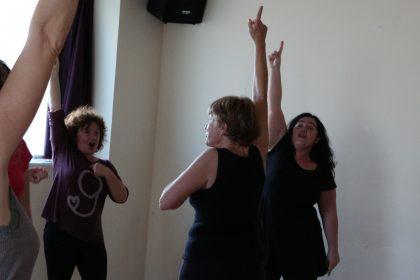 Voz Movimiento Expresivo Taller