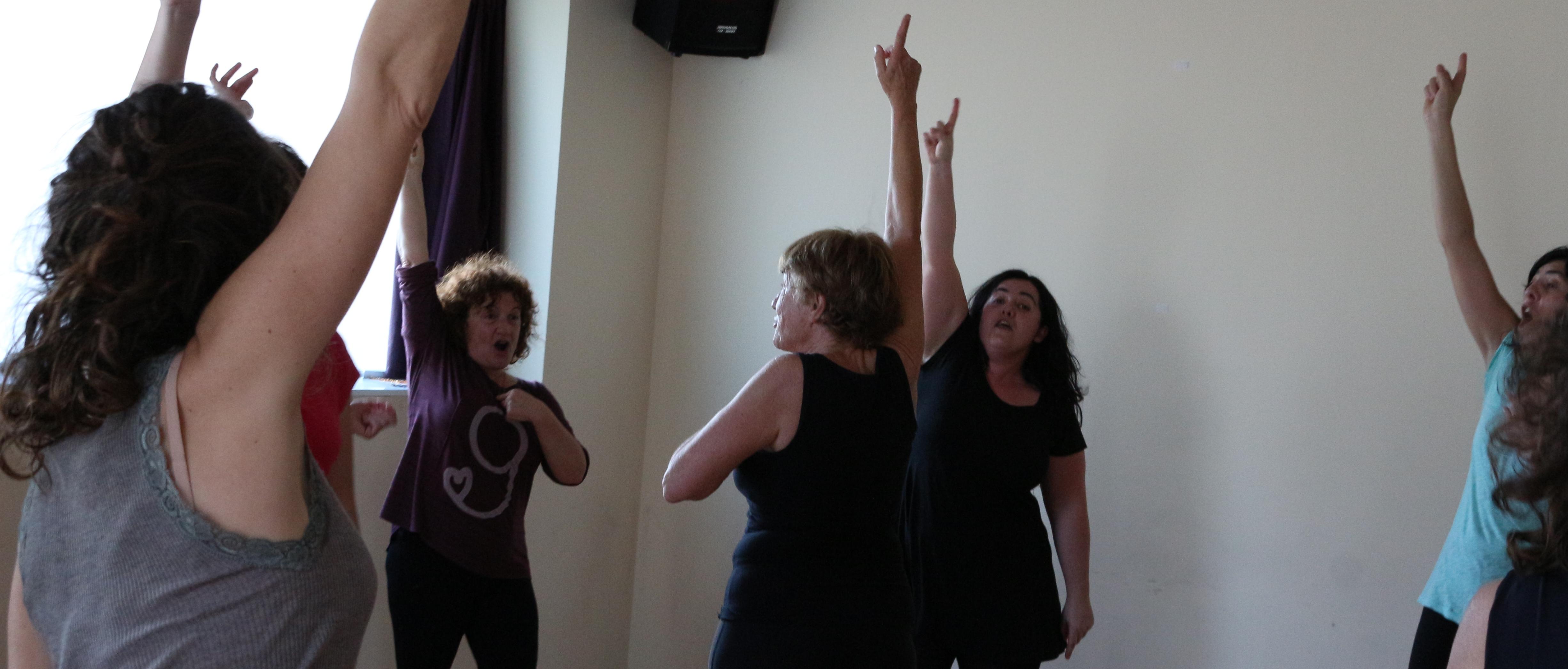 Liberacion de la Voz y Movimiento Expresivo