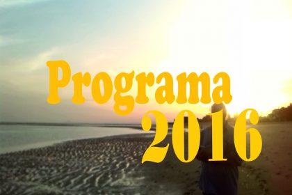 Programa de Actividades 2016 Alejandría Terapia Gestalt