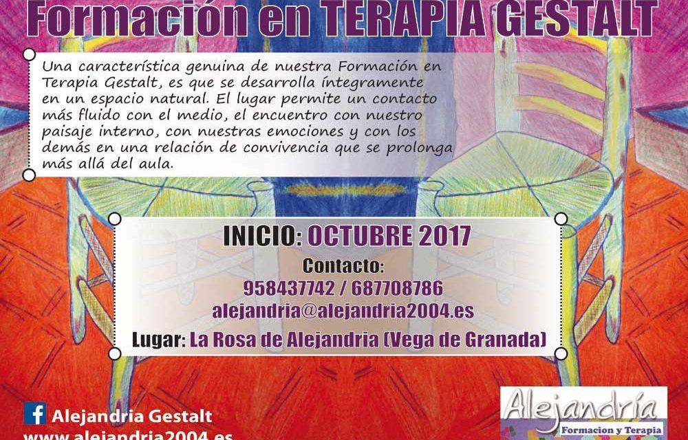 Formación en Terapia Gestalt 2017