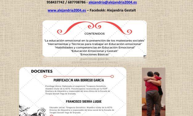 Curso Educacion Emocional en Atarfe (Granada)